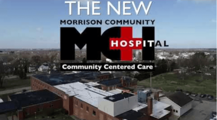 Morrison O'Shea Project. The new Morrison Community Hospital.
